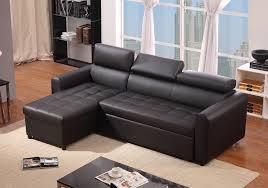 canape d angle cuir pas cher canapé d angle convertible pas cher simili cuir noir luciano