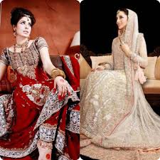 bridal sharara dresses design collection 2016 stylo planet