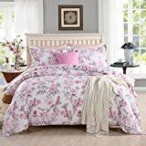 pink duvets covers sets bedding home kitchen