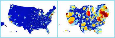 Cartogram Map Data Stories Of The Week U2013 No 11 U2013 Yourdatastories