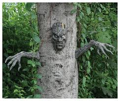 cool halloween yard decorations amazon com spooky living tree decoration toys u0026 games