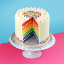 cakes to order rainbow cake cupcakes london