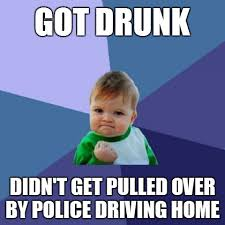 Drinking And Driving Memes - success kid drunk driving by inf3ct3d d3m0n on deviantart