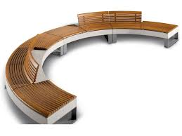 Curved Bench With Back Curved Benches Archiproducts