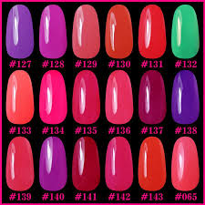 perfect summer gel nail polish 6pcs 8 ml uv gel nail polish soak