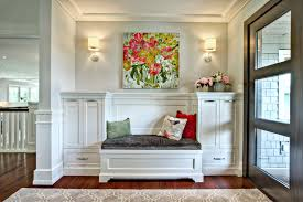 entryway built in cabinets entryway rug ideas entry transitional with wall art built in bench
