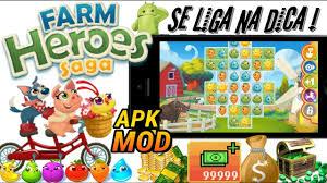 farm saga apk dica de jogo farm heroes saga v 2 73 7 apk mod dinheiro infinito