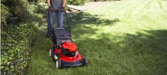 maintain a push lawn mower