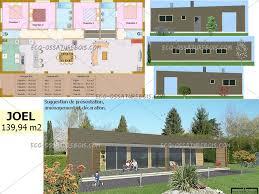 plan maison bois plain pied 4 chambres newsindo co