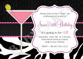 template 30th birthday invitations templates printable comely