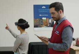 microsoft hololens and lowe s working to redefine your next home hologram experience at lowe s