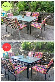 Easy Patio Easy Patio Furniture Makeover My Craftily Ever After