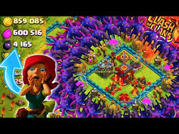 big clash of clans base clash of clans unreal loot destroying maxed bases 1 attack