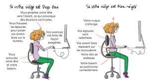 position assise bureau le guide des bons gestes et des bonnes postures