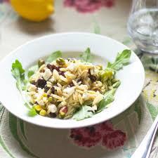 blogue de cuisine salade d orzo feta et roquette cuisine blogue pratico pratique