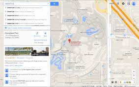 Maps Google Com Las Vegas Google Maps Tutorial The Dis Disney Discussion Forums