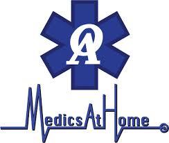 At Home Logo Medics At Home Medical Transportation 5935 Henninger Dr North