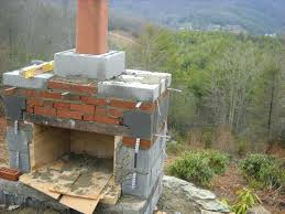 build your own outdoor fireplace kit plans free to