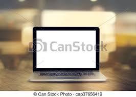 ordinateur portable bureau tonalité bois vendange ordinateur portable bureau