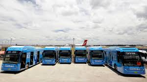 new volkswagen bus 2017 sydney airport launch new electric bus fleet for 2017 electric