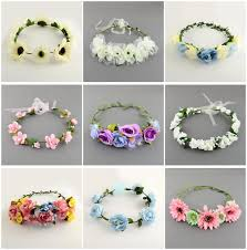 flower headbands diy diy summer headband with fresh flowers collections of pendants