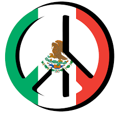 peace logo mexico flag clipart the cliparts