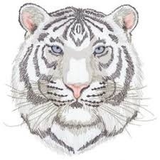 white tiger embroidery designs machine embroidery designs at