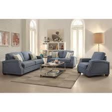 Navy Blue Leather Sofa And Loveseat Loveseat Camelback Loveseat Navy Blue Modern Sofa Blue Leather
