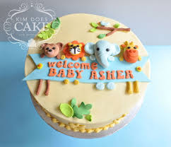 jungle baby shower cakes baby shower cakes with animals jungle animal ba shower cake