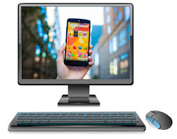 project android screen to pc how to display or mirror an android device screen on pc no root