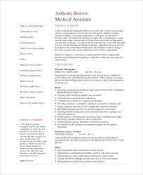 Office Assistant Resume Example by Sample Medical Assistant Resume 7 Examples In Pdf