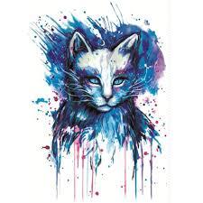 yeeech temporary tattoos sticker for cat