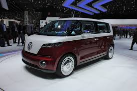 green volkswagen van electric volkswagen bus teased again will it be real this time