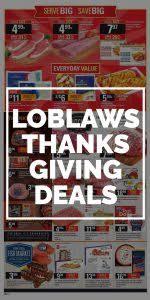 loblaws flyer thanksgiving deals 2017