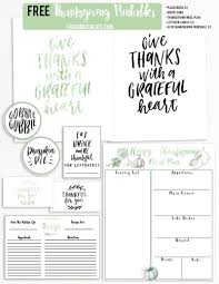 free thanksgiving printables the home i create