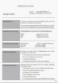 chartered accountant resume example of accounting resume 10 best resume examples images on