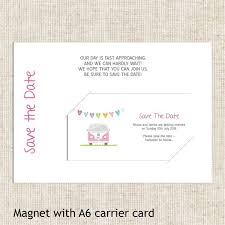 Save The Date Cards Campervan Save The Date Magnets From Tree Of Hearts