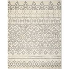 safavieh adirondack collection adr107b ivory and silver area rug