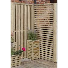 rowlinson slatted screen panel