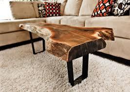 coffee table tree stump coffee table carpet and sofa and cushion