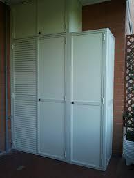 armadio da esterno in alluminio mobili per ripostiglio mattsole