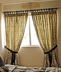 Curtains With Ribbons All Tied Up Wish I Were A Housewife