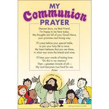 my communion my communion prayer