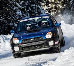 subaru rally snow social feed cdnrally com
