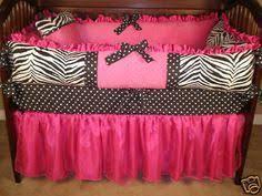 Pink Zebra Crib Bedding Minky Crib Bedding Set Black And White Zebra With Pink Satin