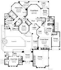 mediterranean floor plans with courtyard tre mori courtyard home plans home plan styles sater design