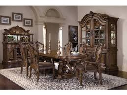 dining room set with china cabinet pulaski furniture dining room san mateo china deck 662301 carol