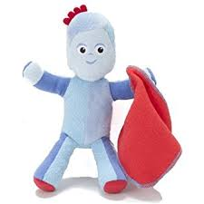 night garden talking iggle piggle soft toy 23cm golden