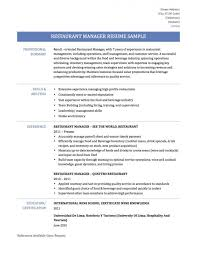 Restaurant Manager Resume Samples by Resume Shipping And Receiving Manager Resume Sap Hr End User