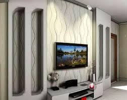 trend images of dark gray tv wall design for living room wall